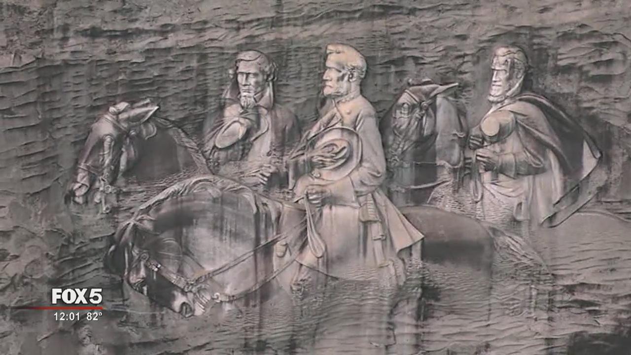 Ga Politician Stone Mountain S Confederate Carvings