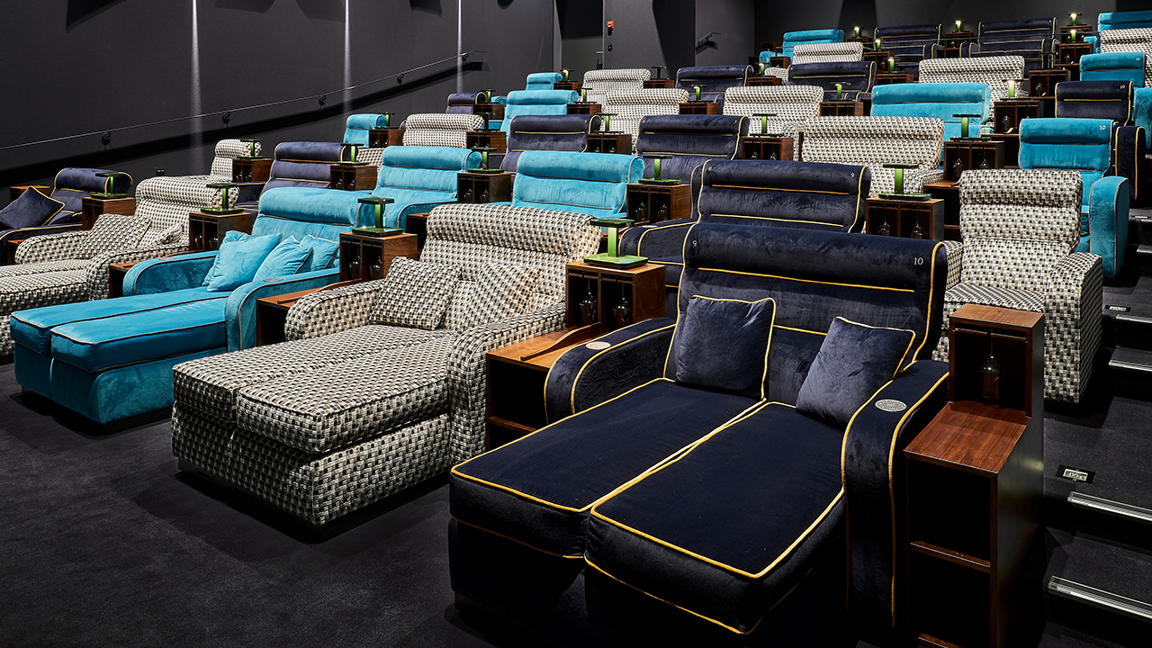 Movie Theater Swaps Seats For Double Beds For Vip Cinema
