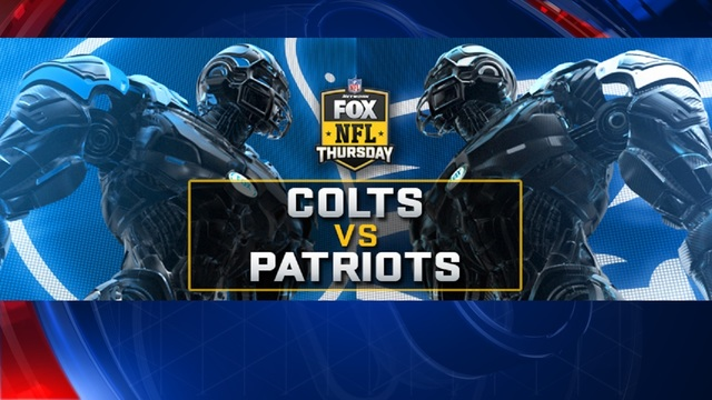 No Deflating The Focus When Patriots Meet Colts On Thursday Night Football On Fox
